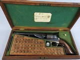 Colt 1861 Navy OMC SN 1906,(Cased) McDowell's Book