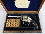 """Colt 1877 Lightning 38 4 1/2"""" Barrel Pall Mall London_Cased"""
