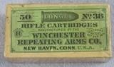Winchester 50 No. 38 Long Rimfire