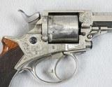 Tranter Model 1868 D.A. .380 Five Shot Revolver - 4 of 9