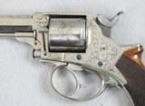 Tranter Model 1868 D.A. .380 Five Shot Revolver - 3 of 9