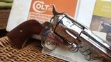 "Colt Single Action Army .44 Special w/5.5"" Barrel / Nickel - 3 of 9"