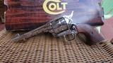 "Colt Single Action Army .44 Special w/5.5"" Barrel / Nickel - 1 of 9"