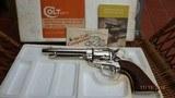 "Colt Single Action Army .44 Special w/5.5"" Barrel / Nickel - 9 of 9"
