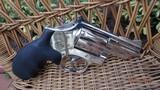 """Smith & Wesson Model 19-4 Nickel / 2.5"""" Barrel"""