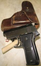 Eibar Echasa .32 Espana with Leather Holster - 1 of 4