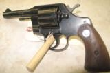 1967 Colt Official Police Revolver in .38 special