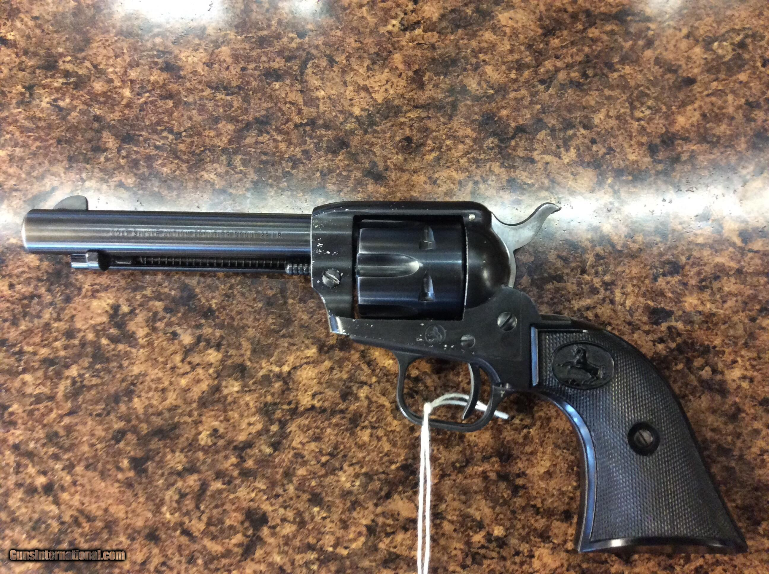 A classic single action Colt revolver