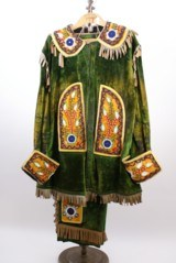 ANTIQ. IMPROVED ORDER of the RED MEN FRATERNAL OUTFIT UNIFORM or WILD WEST COSTUME - 1 of 12