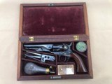 Cased 1862 Police Percussion Revolver With Accessories