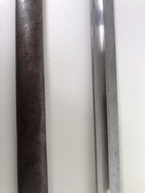 1909 ARGENTINE BAYONET WITH MATCHING # SCABBARD - 4 of 12