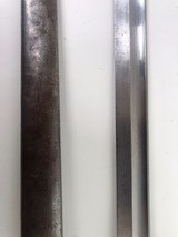 1909 ARGENTINE BAYONET WITH MATCHING # SCABBARD - 8 of 12