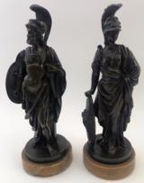 Vintage Bronze Pair
