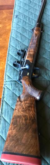 "BLASER R93 .375 H&H - ""RARE"" SPECIAL ORDER W/ QUICK RELEASE SCOPE MOUNTS & WOOD"
