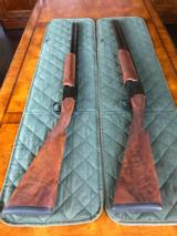CLASSIC DOUBLES PAIR OF GUNS 12 AND 20 - THEY'RE LIKE BRAND NEW