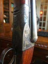"""***SOLD***A. H. FOX """"GRADE-A"""" - 1923 - 20 GAUGE- 25"""" BARRELS - DOUBLE TRIGGER - 2 1/2"""" CHAMBERS - 7 of 25"""