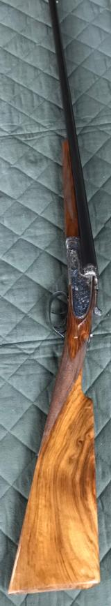 "*****ON HOLD*****28 GAUGE - CELTA BORCHERS OF GUERNICA SPAIN ""SIDELOCK-SIDE CLIPS"" DT 25"" BARRELS IM/F CHOKES"