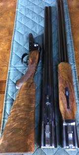 "WINCHESTER MODEL 21 SKEET GRADE 12GA ""THIS GUN WILL LETTER"" 2 BARREL SET 30"" AND 28"""