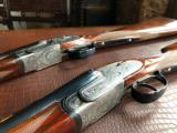 Armes De Chasse (by AYA) - SIDELOCK MATCHED PAIR - 28/410 SXS guns - sequential serial numbers - WOW!