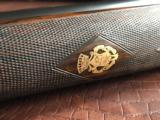 "Piotti Lunik - 28 Gauge - Engraved by Creative Art's - Splinter Forend - Cocking Indicators - 27"" Barrels - Leather Pad - 19 of 23"