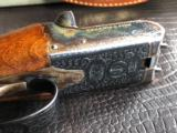 """G.E. Lewis BLE - 28 GA - 28"""" Barrels - IC/Mod - Scalloped Frame - 14 1/2 X 1 3/8 X 2 1/8 - 5 lbs 10 ozs - Single Trigger - Checkered Butt - Case Color - 18 of 22"""