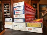 Winchester - Large Assorted Shotgun Boxes (Couple of Parker Repro Boxes and Browning 22LR Rifle)