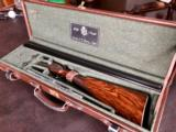 "Piotti King 20 GA - Sidelock Ejector - Rich Color Case - Rolled Trigger Guard - Turkish Walnut - IC/Mod - 27"" - 14 3/8"" X 1 9/16"" X 2 3/8"" - 6 lbs 6 o"