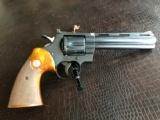 """Colt Python .357 Magnum - 6"""" Barrel - Wood Grips - Crisp Action"""