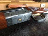 "Winchester Model 23 Golden Quail 410 - 3"" - 25 1/2"" Barrels - Winchester Case & Keys - NICE Clean Shotgun - M/F Chokes - BABY FRAME! - 4 of 24"