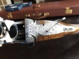 """Beretta SO """"Sparviere"""" (Sparrow) SLE - 12ga - GullWing - 30"""" - Live Pigeon & Sporting Clays Gun - Mobil Chokes - Engraved by D. Lanetti - Bulino Scen - 22 of 24"""