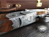 """Beretta SO """"Sparviere"""" (Sparrow) SLE - 12ga - GullWing - 30"""" - Live Pigeon & Sporting Clays Gun - Mobil Chokes - Engraved by D. Lanetti - Bulino Scen - 12 of 24"""