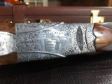 """Beretta SO """"Sparviere"""" (Sparrow) SLE - 12ga - GullWing - 30"""" - Live Pigeon & Sporting Clays Gun - Mobil Chokes - Engraved by D. Lanetti - Bulino Scen - 4 of 24"""