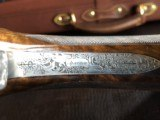 """Beretta SO """"Sparviere"""" (Sparrow) SLE - 12ga - GullWing - 30"""" - Live Pigeon & Sporting Clays Gun - Mobil Chokes - Engraved by D. Lanetti - Bulino Scen - 11 of 24"""