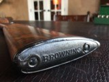 """Browning Superposed 28ga - 28"""" - IC/Mod - RKLT - Browning Horn Butt Plate - ca. 1960 - Outstanding Factory Wood - Outstanding Configuration - CLEAN! - 25 of 25"""