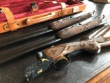 "Winchester Model 23 - 28ga/20ga - ""XXIII Winchester Custom 2 Barrel Hunt Set"" - 25.5"" Barrels - IC/Mod - 14 1/8 X 1 1/2 X 2 1/4 - LIKE NEW RARE!"