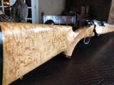 D. Dury Custom .25-06 - Stiller High Standard Action - UNFIRED - Custom Maple Stock - Gorgeous Rifle - Unbelievable Wood - Fine all Around!