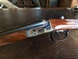 """Rosson & Son BLE 410ga - ejector gun - 2.5"""" shells - 27"""" Barrels - English Dainty Frame - M/F - 15 1/8 (F) X 14 3/8 (R) X 1 1/4 X 2 1/ - 11 of 24"""