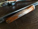 """Rosson & Son BLE 410ga - ejector gun - 2.5"""" shells - 27"""" Barrels - English Dainty Frame - M/F - 15 1/8 (F) X 14 3/8 (R) X 1 1/4 X 2 1/ - 23 of 24"""