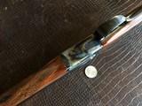 """Rosson & Son BLE 410ga - ejector gun - 2.5"""" shells - 27"""" Barrels - English Dainty Frame - M/F - 15 1/8 (F) X 14 3/8 (R) X 1 1/4 X 2 1/4 - 4 lbs 7 ozs"""