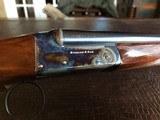 """Rosson & Son BLE 410ga - ejector gun - 2.5"""" shells - 27"""" Barrels - English Dainty Frame - M/F - 15 1/8 (F) X 14 3/8 (R) X 1 1/4 X 2 1/ - 2 of 24"""