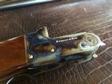 """Rosson & Son BLE 410ga - ejector gun - 2.5"""" shells - 27"""" Barrels - English Dainty Frame - M/F - 15 1/8 (F) X 14 3/8 (R) X 1 1/4 X 2 1/ - 10 of 24"""