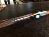 """Rosson & Son BLE 410ga - ejector gun - 2.5"""" shells - 27"""" Barrels - English Dainty Frame - M/F - 15 1/8 (F) X 14 3/8 (R) X 1 1/4 X 2 1/ - 9 of 24"""