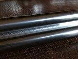 """Rosson & Son BLE 410ga - ejector gun - 2.5"""" shells - 27"""" Barrels - English Dainty Frame - M/F - 15 1/8 (F) X 14 3/8 (R) X 1 1/4 X 2 1/ - 19 of 24"""