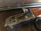 """Rosson & Son BLE 410ga - ejector gun - 2.5"""" shells - 27"""" Barrels - English Dainty Frame - M/F - 15 1/8 (F) X 14 3/8 (R) X 1 1/4 X 2 1/ - 5 of 24"""