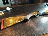 "Winchester Model 21 Skeet Grade - 20ga - 28"" - Engraved by G. Cargnell - Finest Feathercrotch - Gold Inlays - Beavertail - Pistol Grip - Superb Gun!"