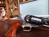 """Colt Walker 1847 - """"Sam Colt"""" .44 cal Black Powder - Never Fired - Untouched - Pristine - Indian & Cavalry Battle Scene Engraved Cylinder - 24 of 24"""