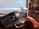 """Colt Walker 1847 - """"Sam Colt"""" .44 cal Black Powder - Never Fired - Untouched - Pristine - Indian & Cavalry Battle Scene Engraved Cylinder - 11 of 24"""
