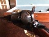 """Colt Walker 1847 - """"Sam Colt"""" .44 cal Black Powder - Never Fired - Untouched - Pristine - Indian & Cavalry Battle Scene Engraved Cylinder - 9 of 24"""