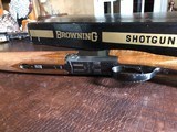 "Browning Superlight - 20ga - 1972 Man. Date - IC/M - 26.5"" - 14 1/4"" x 1 3/8"" x 2"" - 5 lbs 11 ozs - SN: 2871 V72 - In The Box! - 10 of 15"