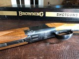 "Browning Superlight - 20ga - 1972 Man. Date - IC/M - 26.5"" - 14 1/4"" x 1 3/8"" x 2"" - 5 lbs 11 ozs - SN: 2871 V72 - In The Box! - 14 of 15"